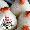 【特売価格にてご提供!】【新米】【送料無料】令和元年産 乾式無洗米 精米 選べる精米方法 北海道産ゆめぴりか 10kg (5Kgx2)
