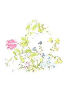 四季の庭・絵はがきNo.3