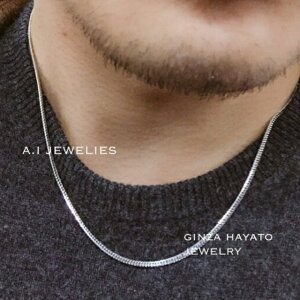 Pt850 プラチナ850 6面 ダブル 喜平 12g 50cm メンズ ネックレス Pt850 kihei 6cut double necklace mens