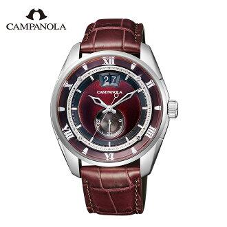 kampanoramekanikarukorekushon胭脂紅明beniake NZ0000-07W CAMPANOLA Mechanical Collection 15周年紀念型號手錶