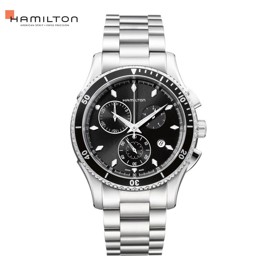 【ポイント10倍】ハミルトン ジャズマスター シービュー クロノ HAMILTON Jazzmaster Seaview Chrono H37512131 送料無料 腕時計