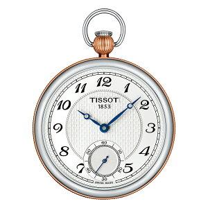 正規品 機械式 ティソ TISSOT ブリッジポート レピーヌ メカニカル T8604052903201 ポケットウォッチ 懐中時計
