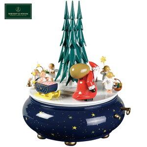 正規品 ヴェント&キューン WENDT&KUHN オルゴール クリスマスの行進 WAK120080 きよしこの夜 ドイツ 送料無料 プレゼント ギフト 贈り物 包装 ラッピング お祝い 祝い 誕生日 結婚記念日 記念日