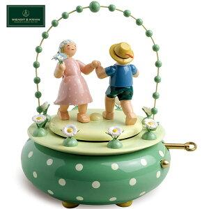 正規品 オルゴール ヴェント&キューン WENDT&KUHN 二人のワルツ WAK120081 花のワルツ くるみ割り人形 ドイツ