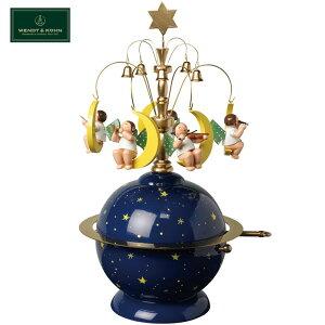 正規品 ヴェント&キューン WENDT&KUHN オルゴール 天使と惑星 WAK120102 きよしこの夜 ドイツ プレゼント ギフト 贈り物 包装 ラッピング お祝い 祝い 誕生日 結婚記念日 記念日 かわいい インテ