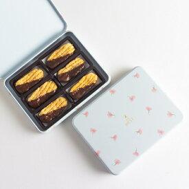 ショコラリーフ (スィートピー缶入)