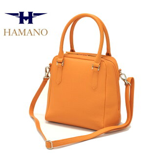 ★Brand New Item! [Hamano leather crafts /HAMANO/ Hamano] the size that is new for handbag Lady's ★ Hamano Pooh Robo stone ★ popularity series is appearance ★ Hamano leather Lady's bag