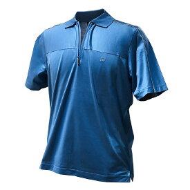 ZILLI (ジリー)シャツ ポロシャツ トップス カジュアル メンズ 半袖 ジリー ZILLI コットン 綿 大きいサイズ