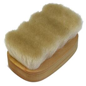 靴磨き ブラシ コロンブス ブートブラック Boot Black フィニッシングブラシ(靴磨き山羊毛+馬毛ブラシ)