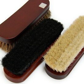 靴磨き 馬毛ブラシ Collonil コロニル ブラシ