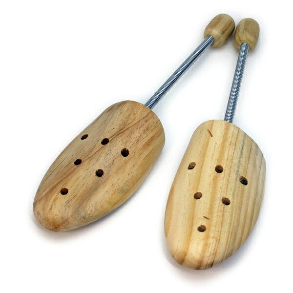 コロンブス ウッドシューキーパー(スプリング式)木製 メンズ シューツリー【2組セット】