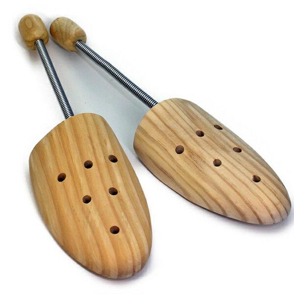 コロンブス ウッドシューキーパー(スプリング式)木製 メンズ シューツリー