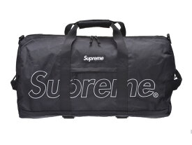 シュプリーム DUFFLE BAG 18FW 黒 メンズ レディース ポリエステル ダッフルバッグ ボストンバッグ 未使用 美品 Supreme 中古 銀蔵