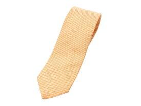 エルメス ネクタイ 黄色 メンズ シルク100% ABランク HERMES 箱 中古 銀蔵