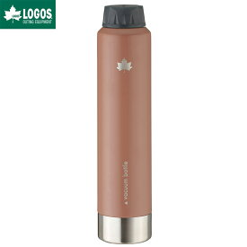 LOGOS ロゴス アウトドア 携帯オアシス 真空ロングスピナー ボトル ヴィンテージキャラメル