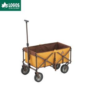 LOGOS ロゴス アウトドア アウトドアワゴン キャリーカート 四輪 折りたたみ 丸洗い LIMITED