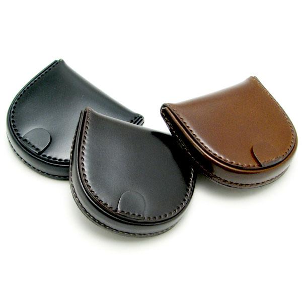 コインケース 高級皮革 コードバン 馬蹄型 小銭入れ 日本製【RCP】 メンズ