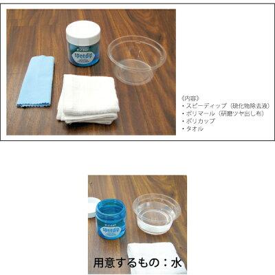 シルバーメンテナンスキット(スピーディップ+ポリマール+タオル+カップ)