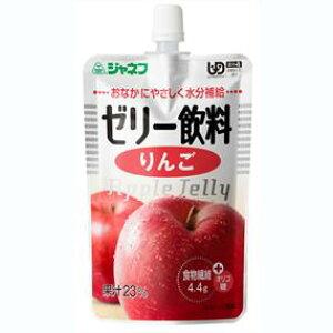 【J】キユーピー株式会社ジャネフやさしい献立 かまなくてよい K417 ゼリー飲料 りんご 100g【JAPITALFOODS】【北海道・沖縄は別途送料必要】
