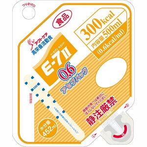 株式会社クリニコ 森永 高栄養流動食 クリミール(Climeal)E-7II(イーセブンセカンド)0.6アセプバッグ 300kcal/500ml×16個入[品番:644614]【栄養機能食品(亜鉛・銅)】<流動食シリーズ>【