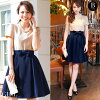 Short-sleeved size invite others that navy red second party banquet in the spring and summer is small in the spring and summer which there is the size sleeve which a party dress wedding ceremony dress dress has a big in and elegant Kaai not to put on are