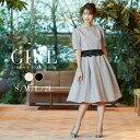 結婚式 ワンピース パーティードレス ドレス 袖あり レース 大きいサイズ ゆったり 小さいサイズ 春 夏 春夏 30代 40…