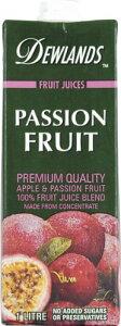 デューランド パッションフルーツジュース(果汁100%) 1L×12本 DEWLAND