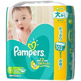パンパース テープ ウルトラジャンボ S 102枚 (テープタイプ) 【代金引換便不可】