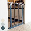 ベビーゲート 柵 赤ちゃん ベビー ゲート シンセーインターナショナル 【インテリアに合わせて選べる】スチールゲート…