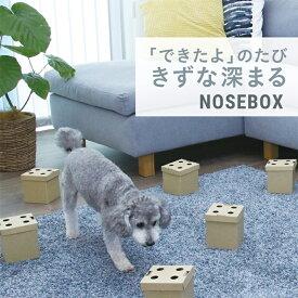 LEONIMAL リオニマル NOSEBOX ノーズボックス 【ラッピング対応】 [福袋対象] 犬用 おもちゃ 嗅覚 探す サイコロ キューブ おやつ 訓練 トレーニング しつけ