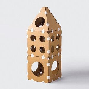 pidan ピダン キャットキューブお家 15枚 【メッセージカード対応】 猫用 ダンボール キャットタワー おしゃれ 組み立て 組み合わせ 自由 ハウス 【あす楽】