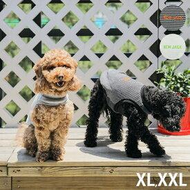 【1点までメール便可】 NEW JACK ニュージャック ワンホール刺繍ボーダー XL、XXL 【メッセージカード対応】 犬用 犬の服 ドッグウェア タンクトップ クール かっこいい シンプル ユニセックス ボーダー