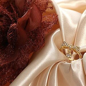 ゴールドキュービックジルコニア ジュエリー一粒チャームパヴェリボンリング|指輪|プレゼント|ギフト|ring|アクセサリー|