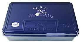 Workson スチールツールボックス L (Workson Disney Workstyle Collection) 日本製 工具箱 [サイズ:H9.5×W38×D23?]