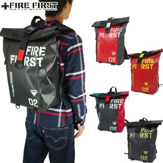 Day pack rucksack backpack fire first FIRE FIRST 9170 men's bag