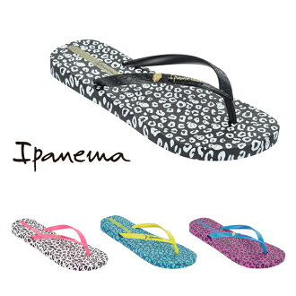 The girl from Ipanema Sandals ladies flip flops thong Sandals PM81695 ANIMAL PRINT animal pattern rubber shoes rubber sandals
