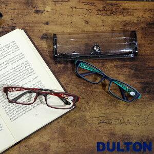 メール便 老眼鏡 おしゃれ レディース メンズ シニアグラス 女性 リーディンググラス DULTON ダルトン READING GLASSES 眼鏡 全2色 YGH61 メガネケース付き 老眼 1.0 1.5 2.0 2.5 ギフト プレゼント 敬老の