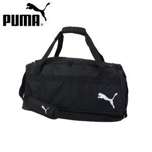 PUMA プーマ ボストンバッグ 大容量 スポーツ チームゴール 23 チームバッグ M メンズ レディース ジュニア ダッフルバッグ ブラック 54L 076859 クラブ サッカー 部活 スポーツバッグ フットサル