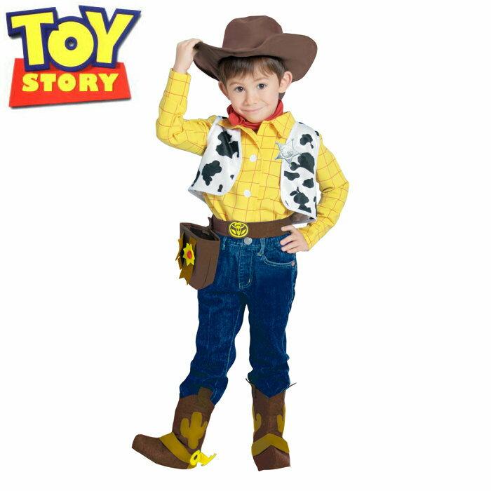 送料無料 ハロウィン 衣装 子供 ディズニー 仮装 コスチューム トイストーリー ウッディ キッズ Toy Story Woody 802059 ディズニーランド ハロウイン コスプレ イベント ハロウィーン あす楽