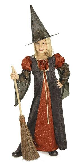 ハロウィン 衣装 子供 魔女 コスプレ 女の子 魔法使い RED SPARKLE WITCH 仮装 コスチューム ハロウィンパーティー ハロウイン イベント ハロウィーン あす楽