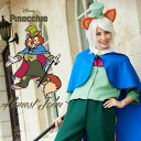 ハロウィン 仮装 ディズニー コスチューム 大人 レディース 衣装 ピノキオ ファウルフェロー 37017 キャラクター コス…
