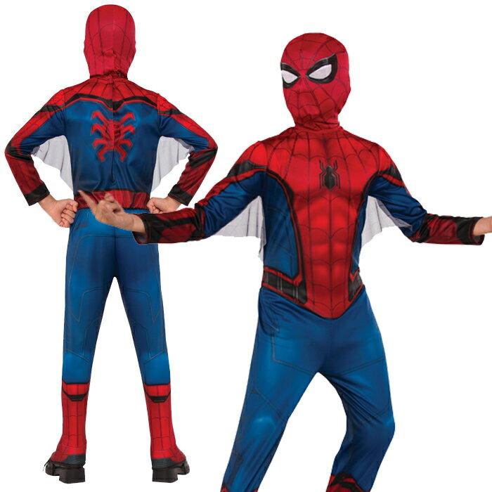 ハロウィン 衣装 子供 コスプレ 仮装 男の子 キッズ スパイダーマン Kid's Spiderman Costume コスチューム ハロウィンパーティー イベント ハロウィーン あす楽