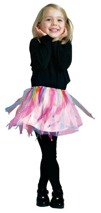 ハロウィン 衣装 子供 コスプレ 女の子 ピンクレインボー チュチュ Pink Rainbow Tutu 仮装 コスチューム ハロウィンパーティー ハロウイン イベント ハロウィーン あす楽