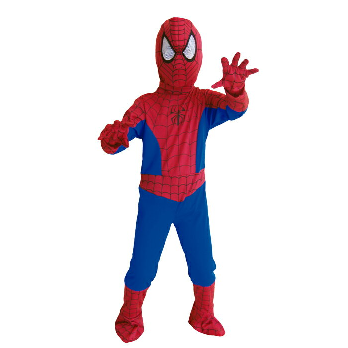 ハロウィン 衣装 子供 コスプレ 男の子 スパイダーマン Spiderman 仮装 コスチューム ハロウィンパーティー ハロウイン イベント ハロウィーン あす楽