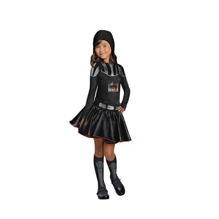 送料無料 ハロウィン 衣装 子供 コスプレ 女の子 スターウォーズ STAR WARS ダースベーダー Darth Vader Girl 仮装 コスチューム ハロウィンパーティー ハロウイン イベント ハロウィーン あす楽