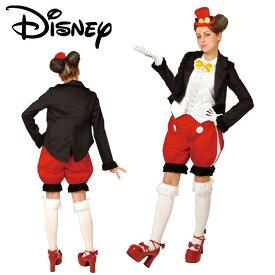 ハロウィン コスプレ ディズニー 衣装 大人 仮装 ミッキー ゴシック ミッキーマウス パンツバージョン Gothic Costume Adult Mickey Pants Ver. ゴスロリ ディズニーランド コスチューム ハロウイン イベント あす楽 送料無料