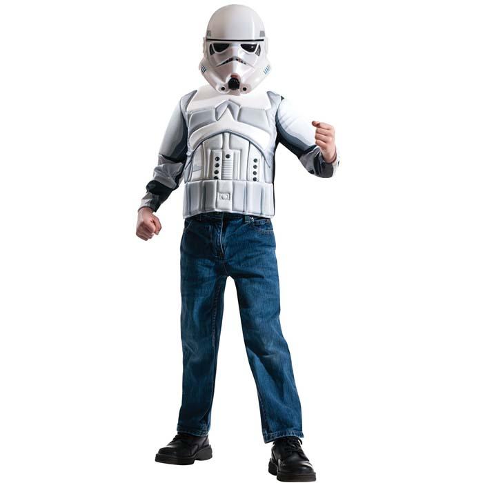 ハロウィン 衣装 子供 コスプレ 仮装 スターウオーズ STAR WARS Stormtrooper 男の子 キャラクター コスチューム ハロウィンパーティー イベント ハロウイン halloween