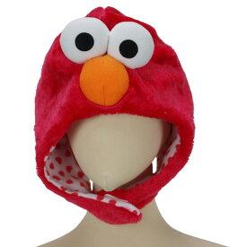着ぐるみ ハロウィン 衣装 コスプレレ 着ぐるみキャップ 帽子 なりきり帽子 エルモ セサミストリート かぶりもの パーティーグッズ イベント ハロウイン 宴会 学園祭