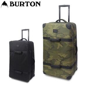 BURTON バートン バック キャリーケース Lサイズ 大容量 スーツケース WHEELIE CARGO TRAVEL BAG メンズ/レディース スーツケース ブラック/カモフラ 116L 116091 キャリーバッグ 旅行 ブランド おしゃれ