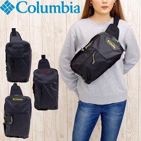Columbia コロンビア バッグ ヒップバッグ ボディバッグ サードブラフ 斜め掛けバッグ メンズ/レディース 5L 全3色 PU8327 ウエストバッグ オムニシールド 撥水 アウトドア 旅行 フェス 自転車 おしゃれ 高校生 中学生 大学生